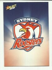 2012 NRL SELECT CHAMPIONS SYDNEY ROOSTERS CHECKLIST CARD #157 FREE POST