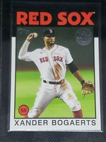 2021 Topps Series One XANDER BOGAERTS #86B-28 Boston Red Sox '86 ANNIVERSARY