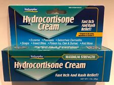 Natureplex 1% Hydrocortisone Cream Anti-Itch 1oz Maximum Strength Exp 05/23 USA!