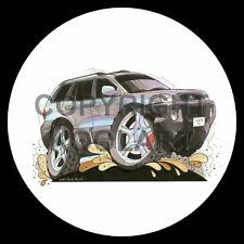 Koolart 4x4 4 x 4 Spare Wheel Graphic Hyundai Santa Fe Sticker 1557