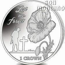 LEST WE FORGET - 35th Anniv Falklands Liberation 2017 Proof Sterling Silver Coin