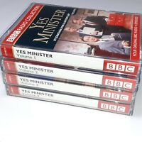 JOBLOT BUNDLE 4 YES MINISTER VOLUMES 1 TO 4 BBC AUDIOBOOK CASSETTE TAPES COMEDY