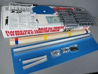 "Tamiya RC 1/14 Semi Trailer Flatbed Top Deck Floor Side Rail Wood Top 27"" 56306"
