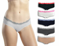 Emprella Womens Underwear Hipster Panties - 6 Pack Colors and Patterns May Vary