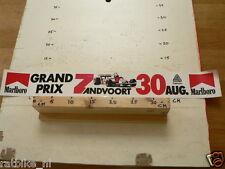 STICKER,DECAL MARLBORO GRAND PRIX ZANDVOORT 30 AUG FORMULA 1 FOLDED BIG SIZE B