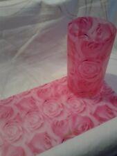 Cubre velas Candle cover. Velas   , decoración,relax ,  cc23 rose