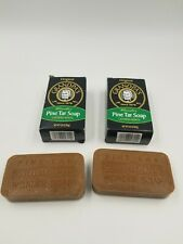 Grandpa's Pine Tar Soap 4.25 Ounce (Pack of 2) Pack of 2