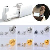 1pc Disposable Sterile Ear Piercing Gun Unit Piercer Tool Machine Earring Stud