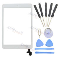 White Touch Screen Glass Digitizer & Tools for iPad Mini 1 2 A1432 A1454 A1455