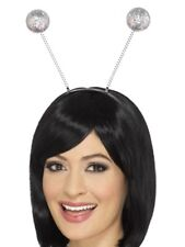 Glitter Ball Costume Antenne sulla fascia Deely headboppers Nuovo Da Smiffys