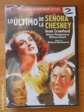 LO ULTIMO DE LA SEÑORA CHESNEY - JOAN CRAWFORD - NUEVA, PRECINTADA (DJ)