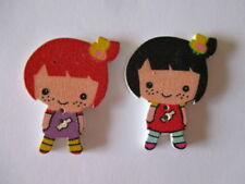 Baby Button Scrapbooking Embellishments