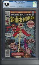 Spider Woman (2/77) - Marvel Spotlight #32 -- CGC 9.0