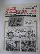 vtg GUIDE Combat Bubble Gum set Donruss 1964 Wild Wild West Card Barratt set