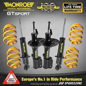 Monroe GT Sport Shocks King Super Low Spring for Holden Statesman WM WMII V8 Sdn