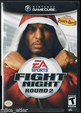 Fight Night: Round 2 (Nintendo GameCube, 2005) Factory Sealed