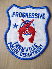 Patches:PROGRESSIVE FARMVILLE POLICE DEPARTMENT PATCH (NEW,approx. 3.12x3 inch)