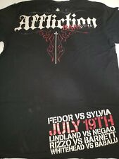 Affliction T-shirt, Fedor VS Sylvia X-Large,