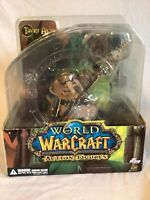 DC Direct World of Warcraft Tuskaar Tavru Akua Action Figure New Sealed