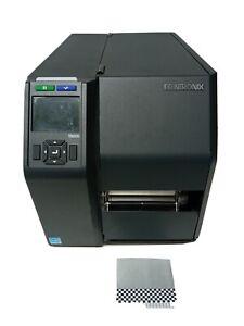 Printronix T8000 T8204 Thermal Label Printer LAN USB PTXTHH104 4x6 FedEx Labels