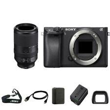 Sony A6300 Digital SLR + FE 70-300mm f/4.5-5.6 G OSS Lens