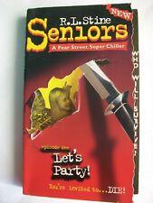 Fear Street Super Chiller Seniors 1 Lets Party R L Stine Vintage Paperback Book