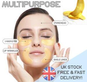 1-50PRS COLLAGEN UNDER EYE MASK - Gold Anti Ageing Wrinkle Bag dark circles spa