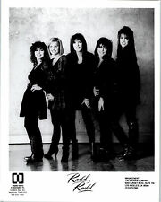 RARE Press Photo Rachel Rachel 90's Contemporary Christian Rock Band Reprint