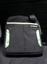 Xtreme Messenger Style Tablet Bag Black w/Green Trim