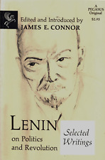 LENIN ON POLITICS AND REVOLUTION SELECTED WRITINGS