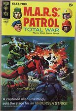 M.A.R.S. Patrol Total War #8 (1969) Gold Key Comics Fine