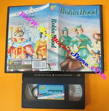 VHS film ROBIN HOOD animazione FORMULA 131FHV 30 minuti (F79) no dvd