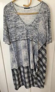 Lounge Stretch Cotton Dress / Tunic Size Large