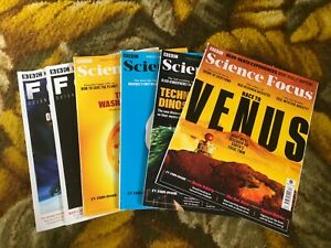 BBC Science & Technology Focus Magazines 2019