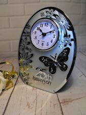 25TH WEDDING ANNIVERSARY GIFT SILVER WEDDING CLOCK GIFT 25TH WEDDING PRESENT