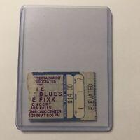 The Moody Blues Fixx Niagara Falls Civic Center Concert Ticket Stub Vintage 1986