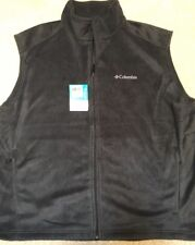 COLUMBIA Steens Mountain Vest Mens Charcoal Black XXL