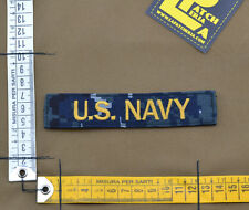 """Ricamata / Embroidered Patch """"U.S. NAVY"""" NWU type I with VELCRO® brand hook"""