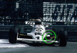 RACING Original 35mm Slide F1 Alan Jones - Williams FW07C 1981 Monaco Formula 1
