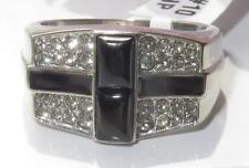 Agate Stainless Steel Signet Rings for Men