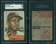 (29703) 1953 Topps 220 Satchel Paige Browns SGC 20 Fair 1.5