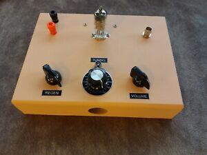 AN ECC84 TUBE 88-108 MHZ FM ONE TUBE REGEN RADIO RECEIVER CRYSTAL CLEAR