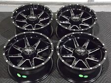 "POLARIS RZR XP1000 14"" QUADBOSS SLICER ATV WHEELS SET 4  LIFETIME WARRANTY 523"