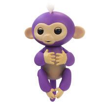 Interactive Finger Baby Monkey Toy Gift purple Finn