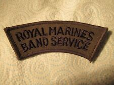 @ PATCH - ROYAL MARINES BAND SERVICE - RM - MILITARY (C)
