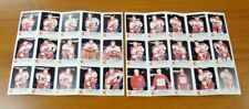 1986-87 Calgary Flames Red Rooster Panels Set Complete