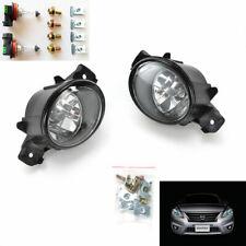 For 2004-2016 Nissan Sentra Clear Lens Fog Driving Light Kit with Bulbs