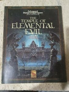 Advanced Dungeons And Dragons The Temple Of Elemental Evil