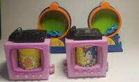 1994 & 1993 McDonald's Sonic & Mattel hot wheels happy meal toys lot of 4 ☆USED☆