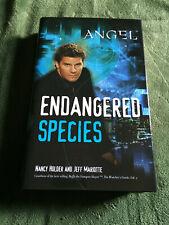 ANGEL: ENDANGERED SPECIES Nancy Holder Jeff Mariotte hardcover first